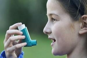 Inhalador atacque de asma