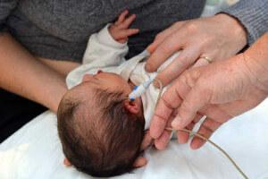 Test auditivo a bebe