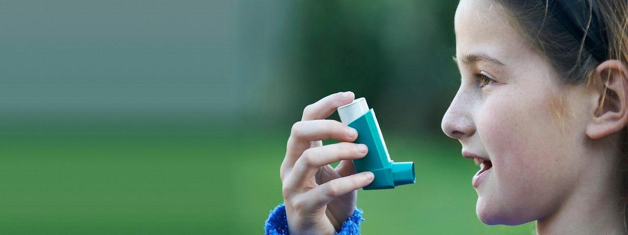 Inhalador ataque de asma