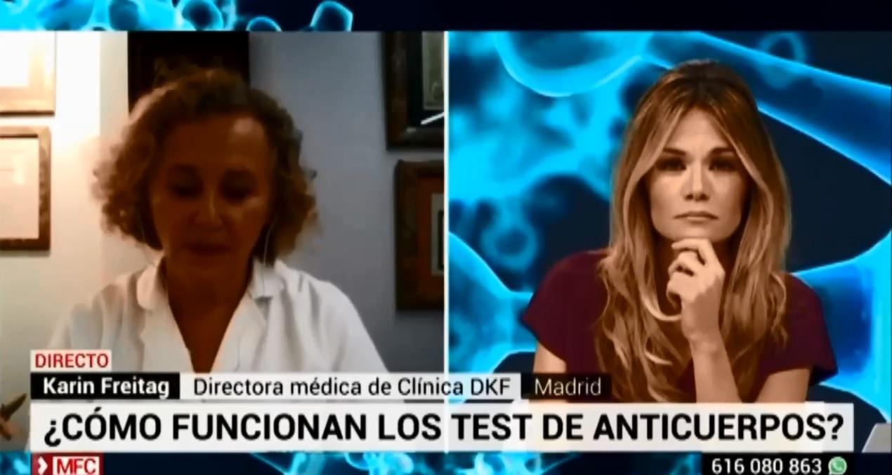 tests detección anticuerpos
