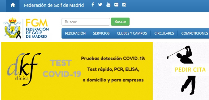 acuerdo federacion golf