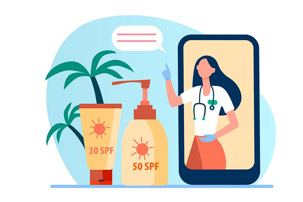 Consejos para proteger nuestra piel del sol - Dermatología - Clínica DKF