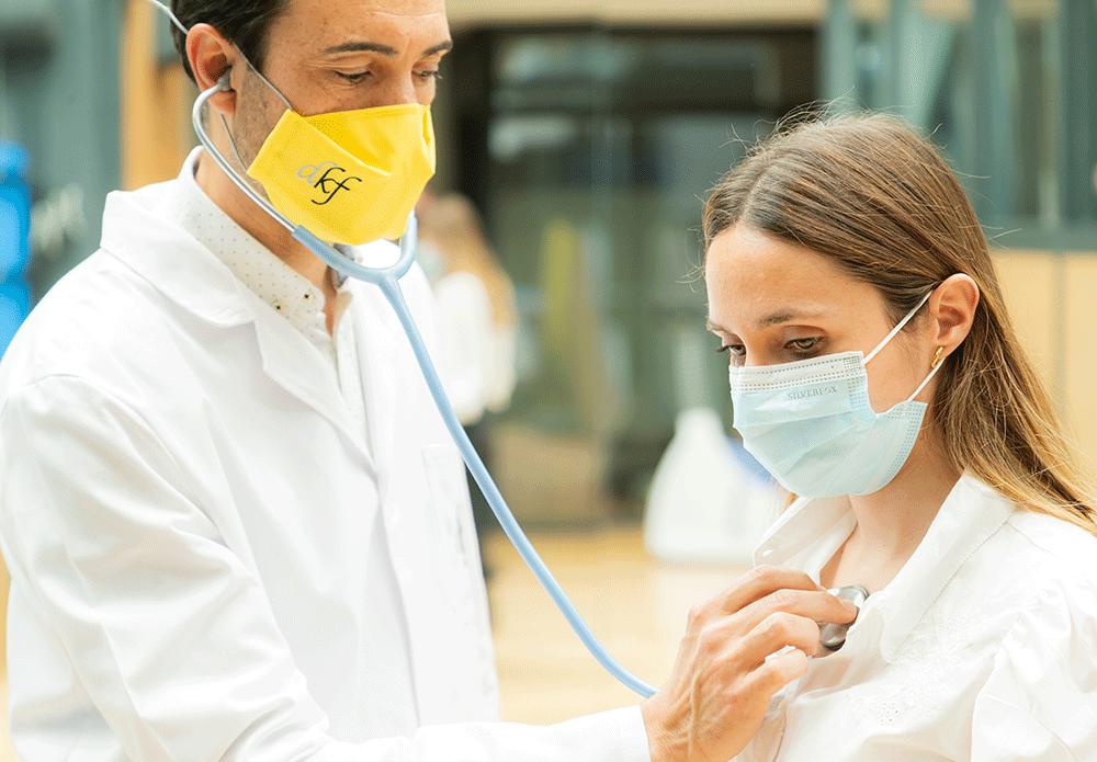 Fisioterapia respiratoria-tratamiento alergias Clínica DKF en Madrid